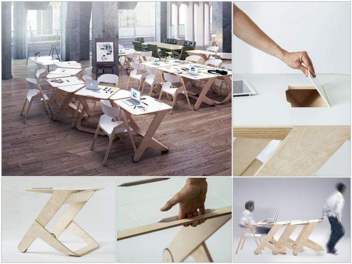 Designer Schreibtisch Fedor Katcuba Workinmotion Bürotisch