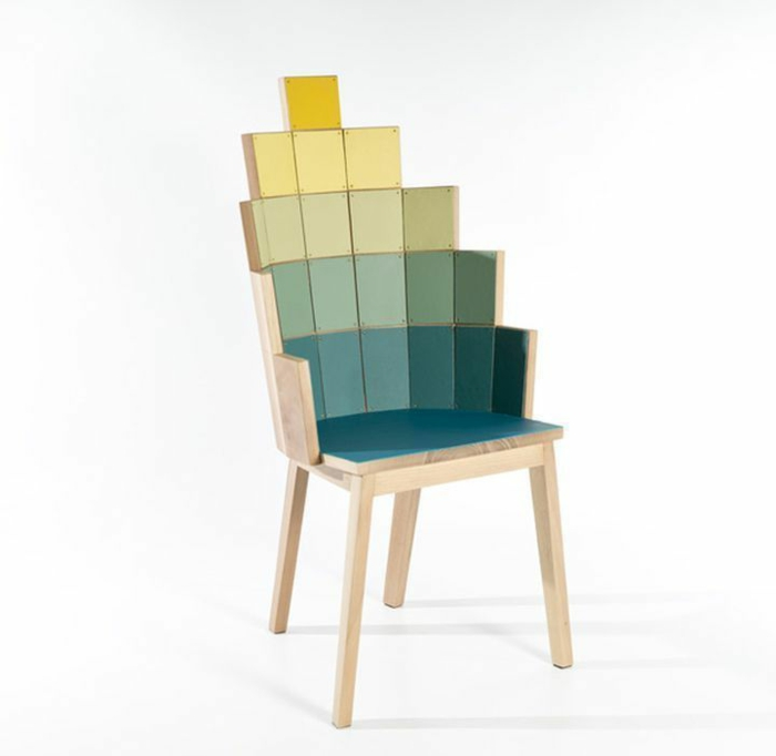 Geometrische tischlampen aus holz vom designer alessandro for Sedie design furniture e commerce