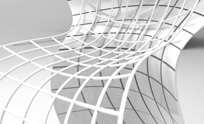 designer stuhl von eva chou r shell chair komplett weiß