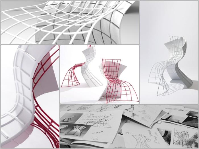 designer stuhl von eva chou r shell chair