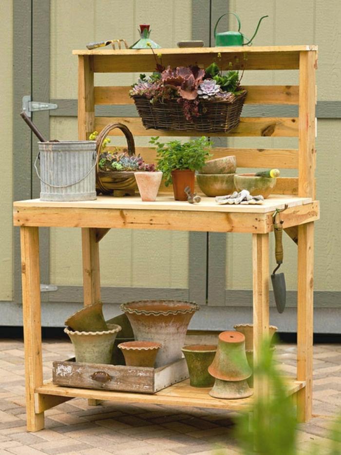Gartenmobel Edelstahl Keramik : Diy Gartenmöbel Aus Paletten Auf Der Terrasse Kissen Auflagen Bank