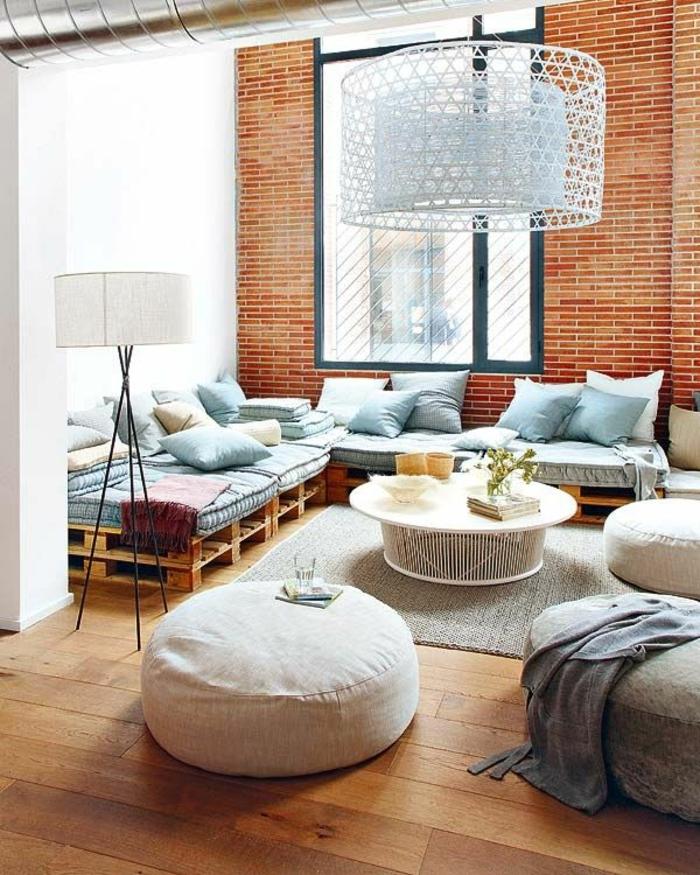 diy möbel aus paletten wohnzimmermöbel aus europaletten bauen