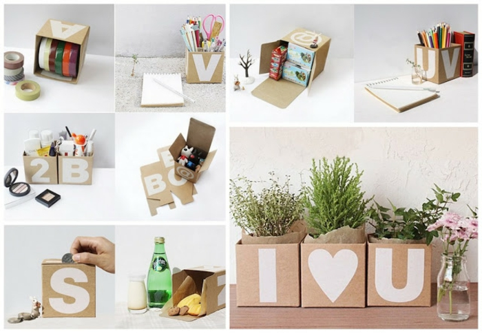 do it yourself ideen teenager zimmer karton boxen