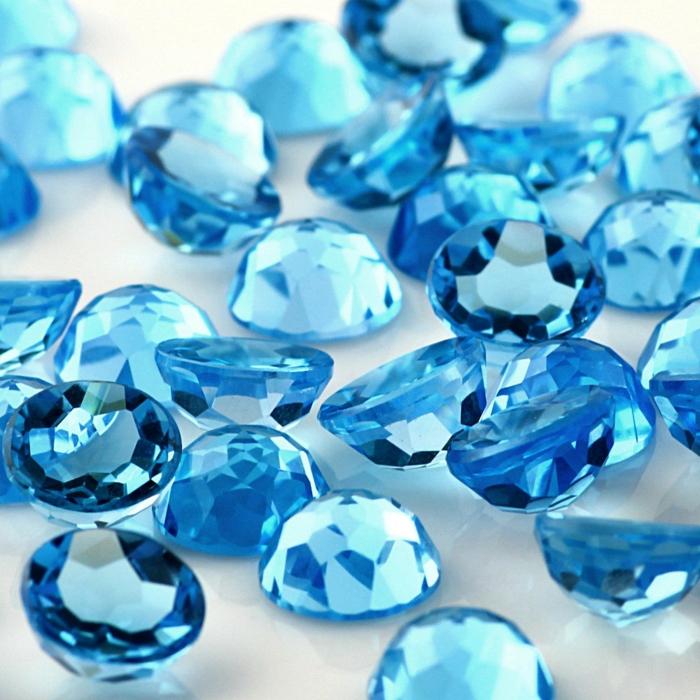 edelsteine bedeutung blauer Topas heilsteine kaufen