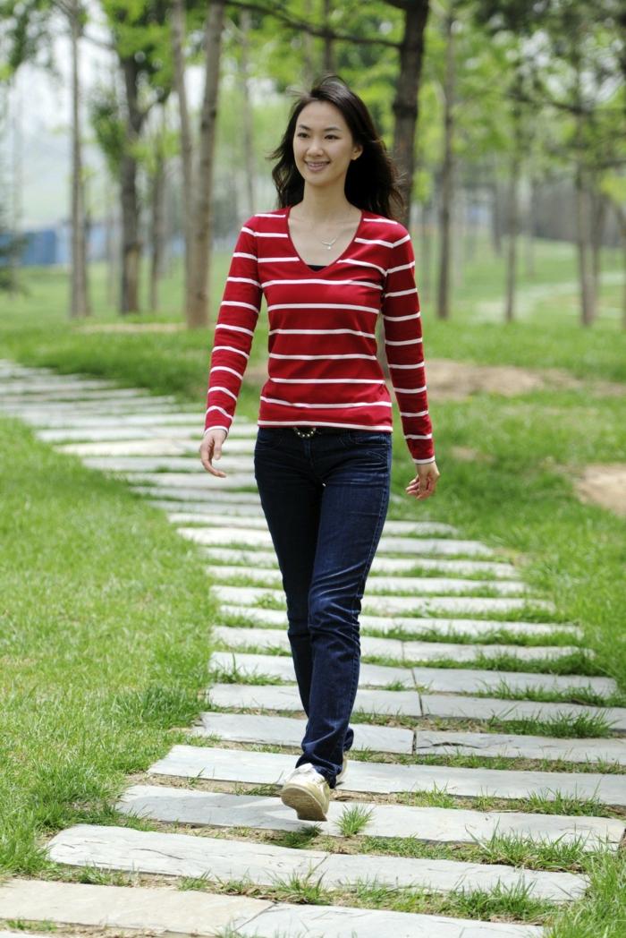 effektiv abnehmen spazieren gehen mehr bewegung