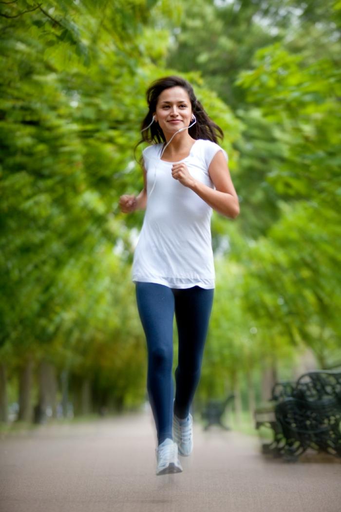 effektives abnehmen sport treiben laufen tipps