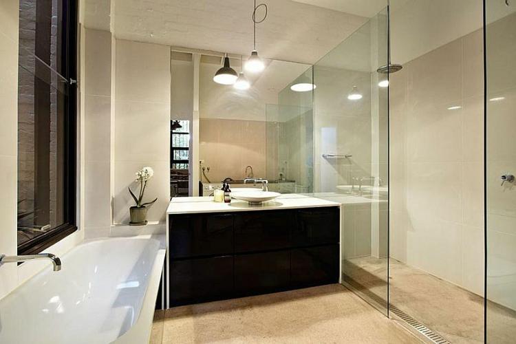 einrichtungstipp industrial style möbel badezimmer ideen