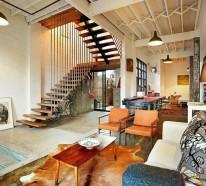 Einrichtungstipps im Industriestil: eine Wohnung in Melbourne als Beispiel