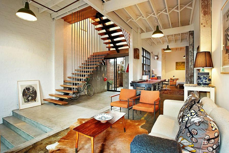 Einrichtungstipps im Industriestil: Wohnung in Melbourne ...