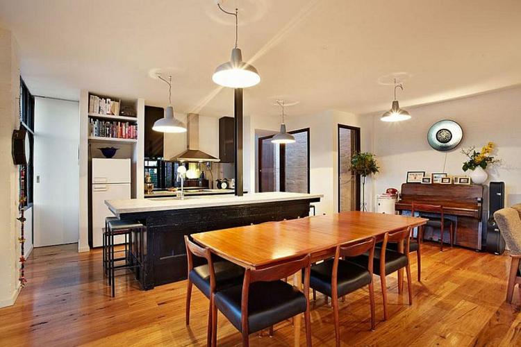 einrichtungstipps wohnzimmer industrial style möbel küche esszimmer