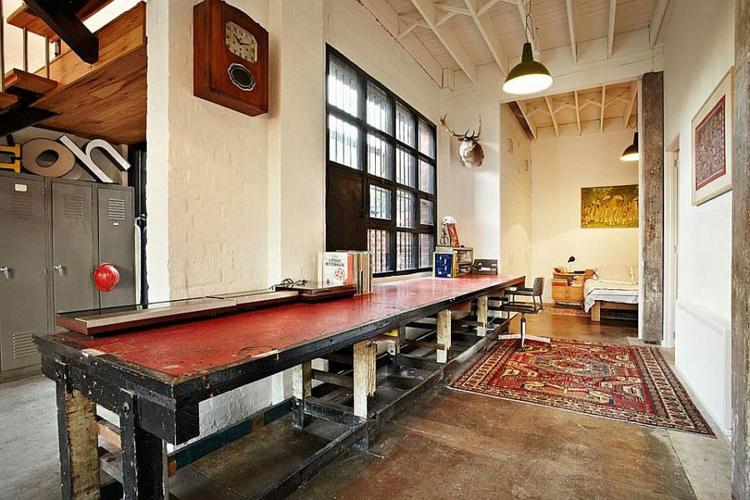 einrichtungstipps wohnzimmer industrial style möbel wohnung Melbourne