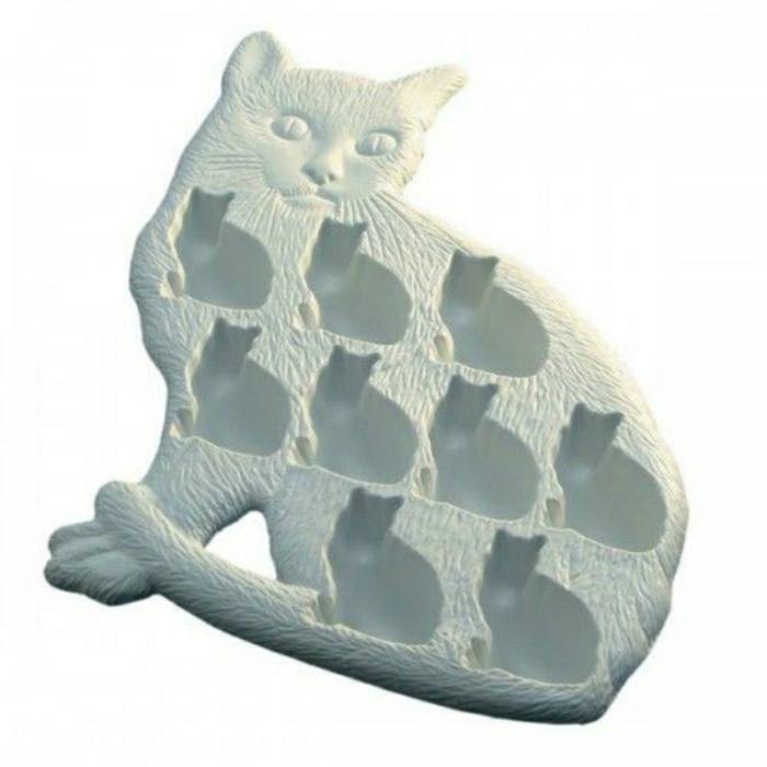 eis würfel form eiswürfelbehälter katze