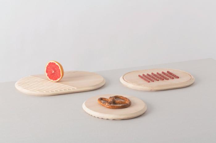 fabrica atipico designer geschirr set schneidebrett