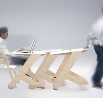 Designer Schreibtisch U201eWorkinmotionu201c Für Eine Moderne Arbeitsatmosphäre