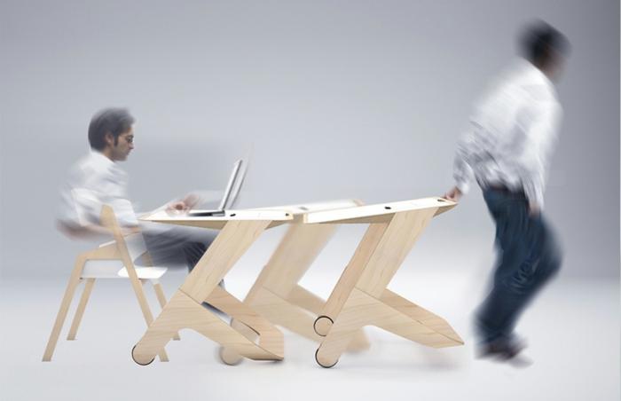 Schön Fedor Katcuba Workinmotion Designer Schreibtisch Flexibel