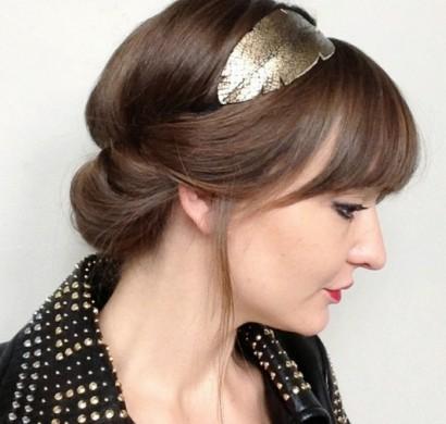 Frisuren Mit Haarband Inspirierende Stilvolle Ideen