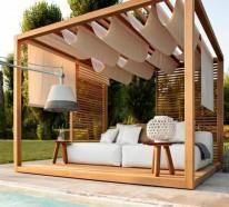Garten lounge möbel holz  Garten Lounge Möbel: So kosten Sie die Sommerzeit voll aus!
