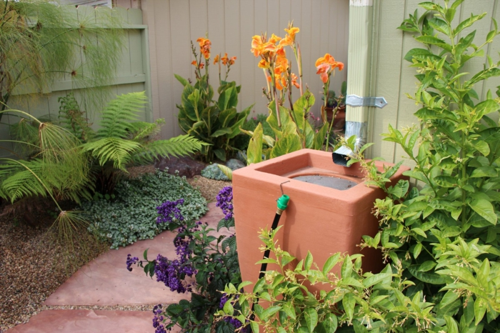 gartenbewässerung ideen regenwasser sammeln