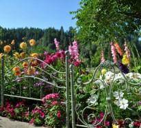 Originelle Gartendekoration für den Herbst