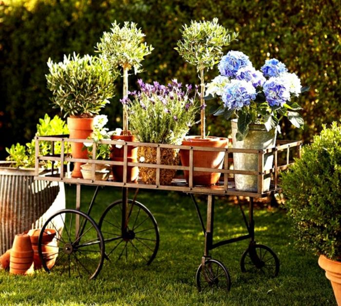 Originelle gartendekoration f r den sommer for Gartengestaltung vintage