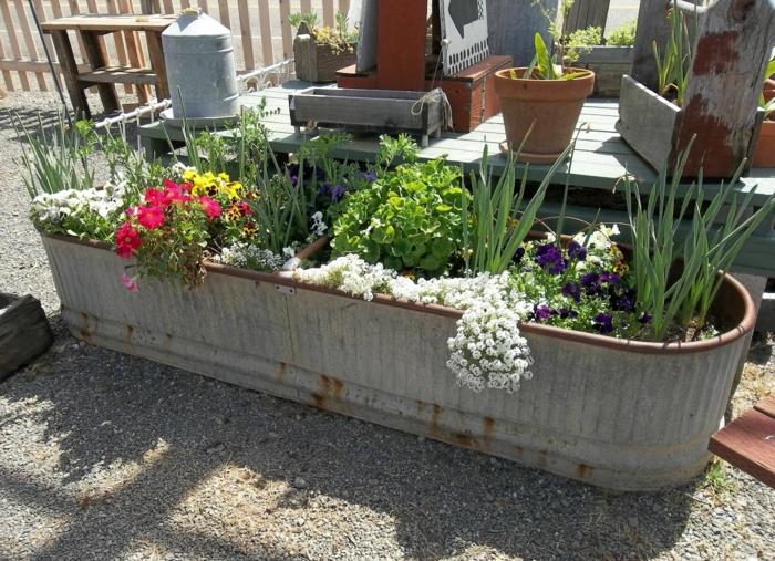 Gartenideen Deko Garten Blumen Außenbereich Gestalten