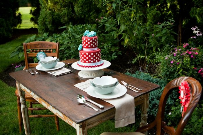 Vintage Garten vintage deko lässt den garten charmanter und weiblicher erscheinen