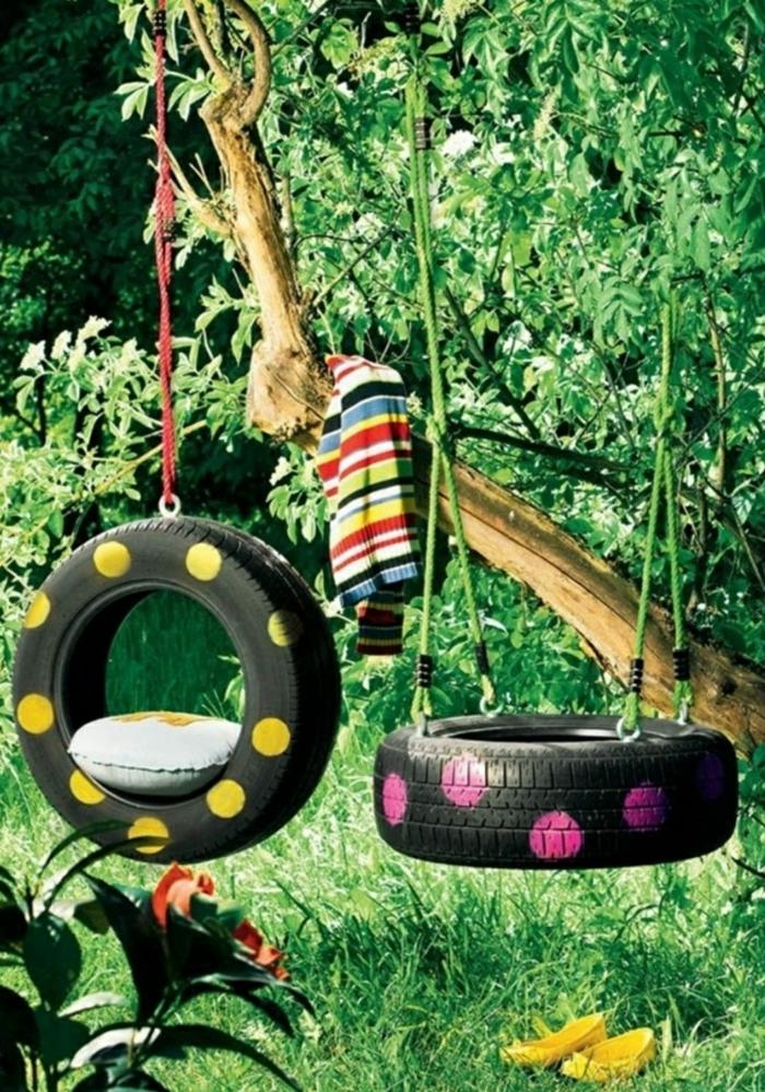 Gartendeko Selber Machen - Verwenden Sie Alte Autoreifen Wieder! Gartendekoration Mit Reifen