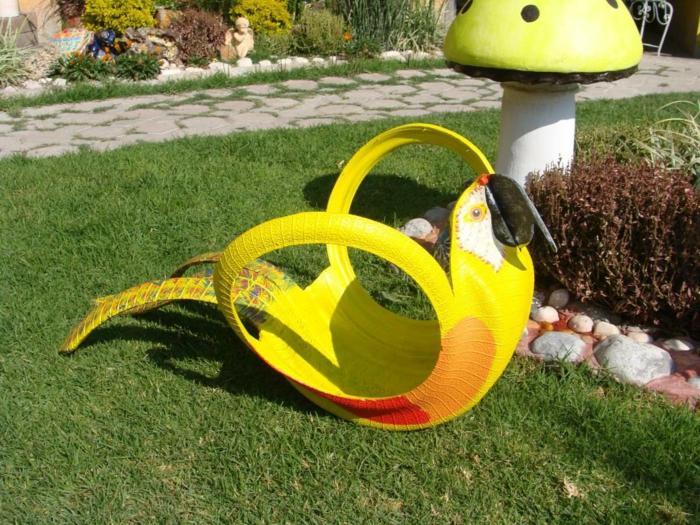 Gartendeko Selber Machen Verwenden Sie Alte Autoreifen Wieder