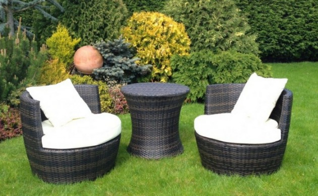 rattanm bel gartenm bel set rattansessel lounge. Black Bedroom Furniture Sets. Home Design Ideas