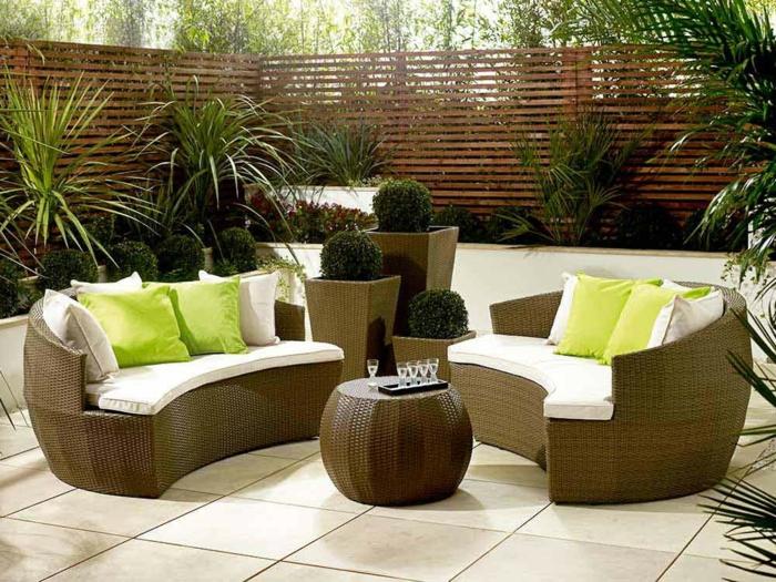 Rattan Gartenmöbel   Reizvolle Außenmöbel für den Garten auswählen!