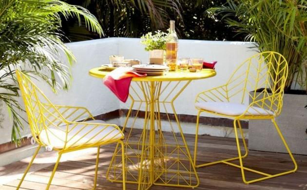 Balkonmöbel set metall  ▷Gartenmöbel Set - Gartenbank - Gartentisch - Gartenbank - Freshideen 1
