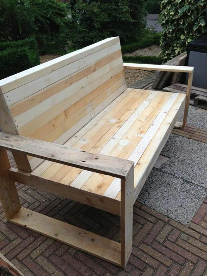 Gartenmöbel aus holz selber bauen