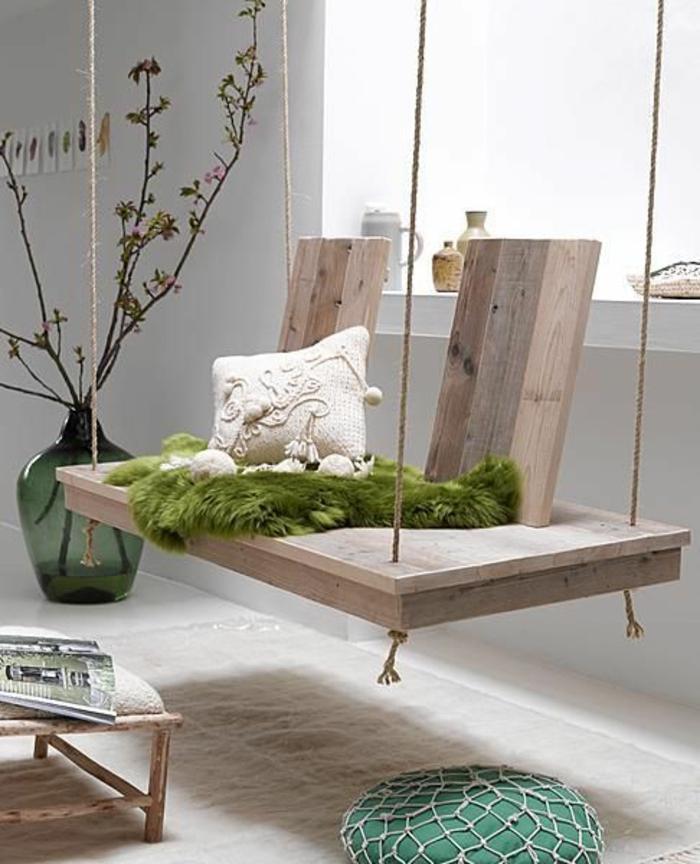 gartenmöbel set holz schaukelbank nachhaltiges design