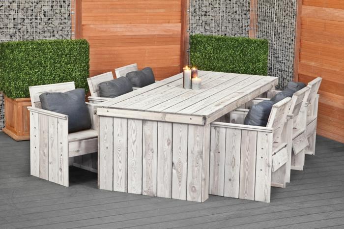 Terrassenmöbel holz massiv modern  Gartenmöbel Set Holz Valencia Iii_09:31:11 ~ EgeNis.com ...