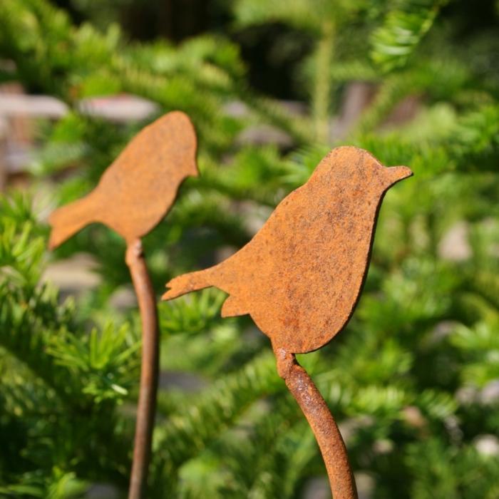 deko plastik vögel im garten stellen – elvenbride, Garten und erstellen