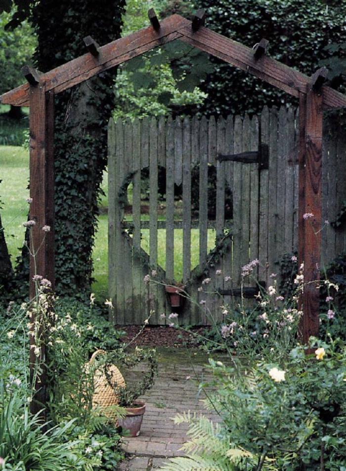 26 Gartentor Designs, Die Den Eintritt In Den Garten
