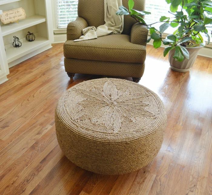 gebrauchte autoreifen möbel runde ottomane