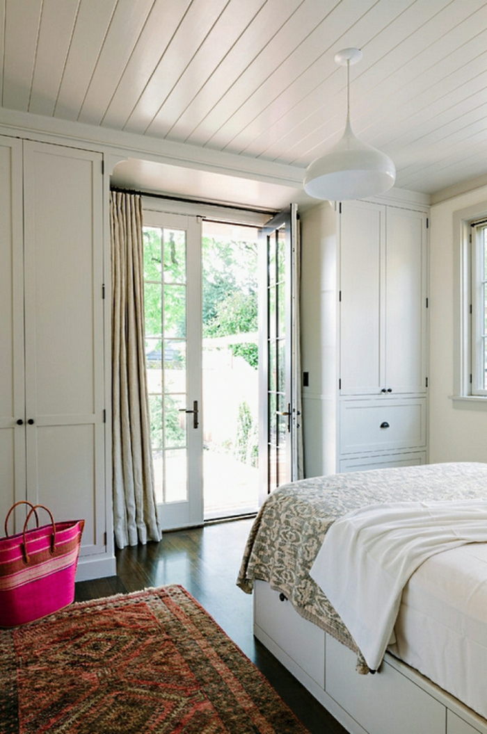 geräumiges schlafzimmer gestalten mehr stauraum schaffen