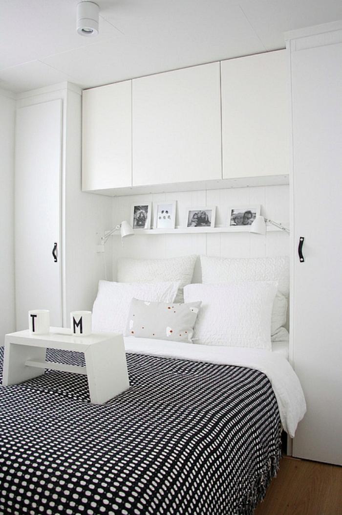 geräumiges schlafzimmer gestalten stauraum schaffen kleiderschrank ideen