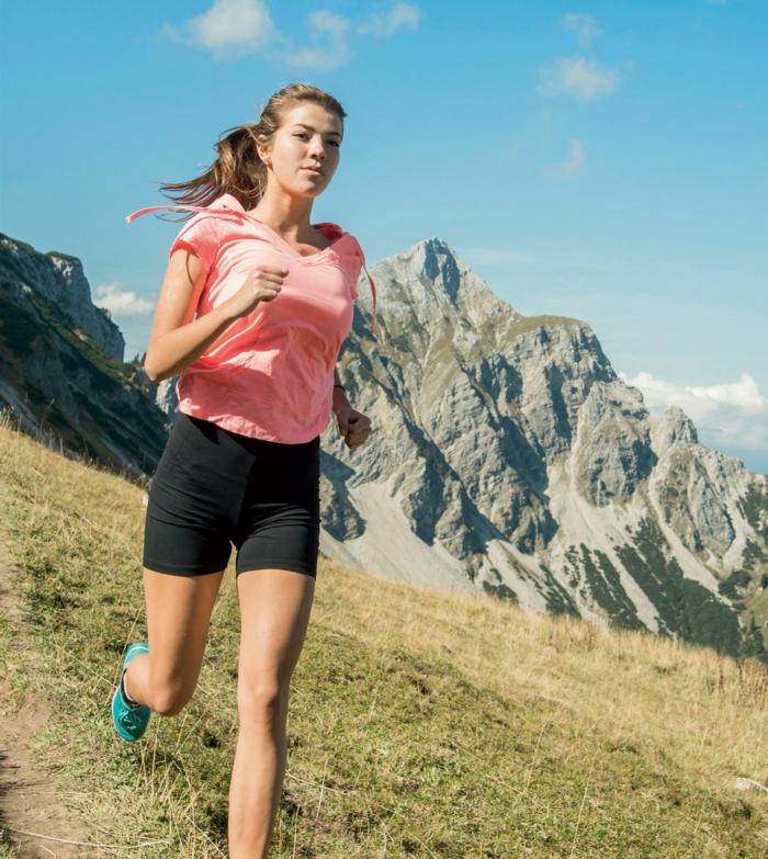 gesundes essen jogging gesunder körper