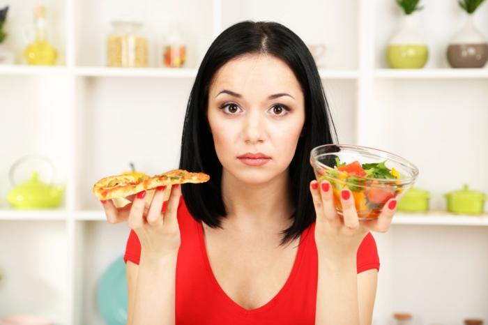 gesunde ernährung pro contra einstellungen lifestyle