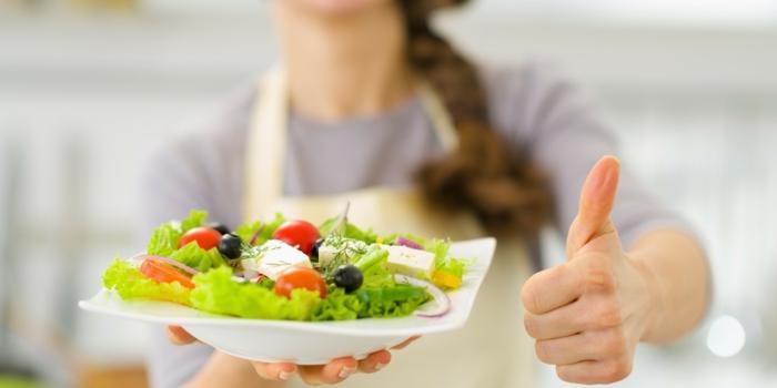 gesunde ernährung salat eigene einstellungen