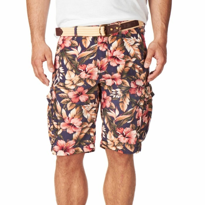 herren bermudas scotch and soda hibiskus 2020