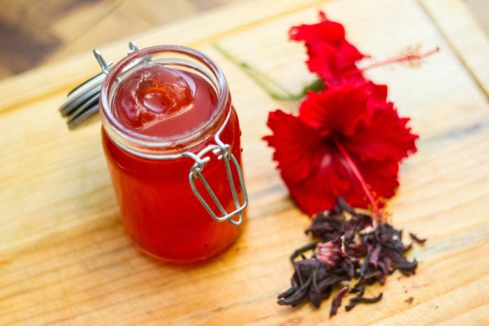hibiskus chinesische rose gesund essbar sirup