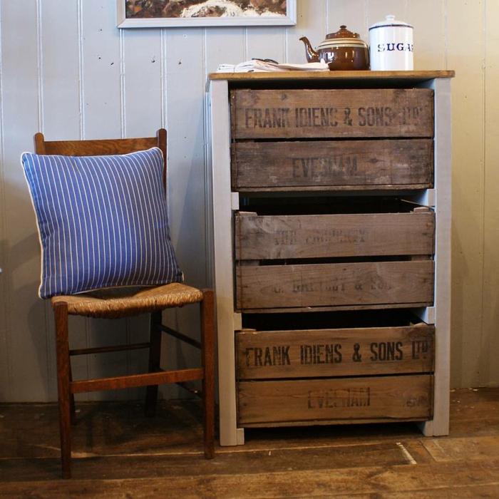 Aus Holzkisten lassen sich praktische Möbel und ...