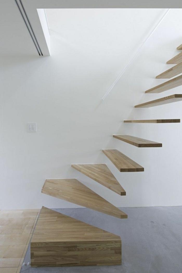 Unterschiedlich Haustreppen: So nehmen Sie selber das Maß Ihrer Holztreppe auf JZ75
