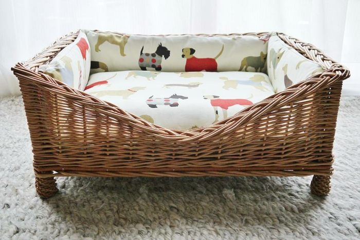 hundekorb elegantes design komfortabel haustiere