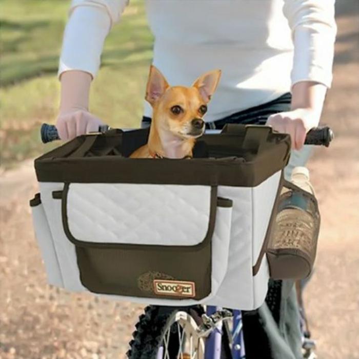 hundekorb fahrrad funktionelle lösung accessoires