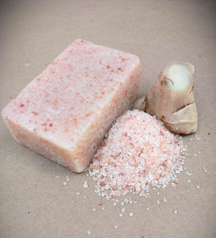 ingwer und himalaya salz wirkung gesundes essen