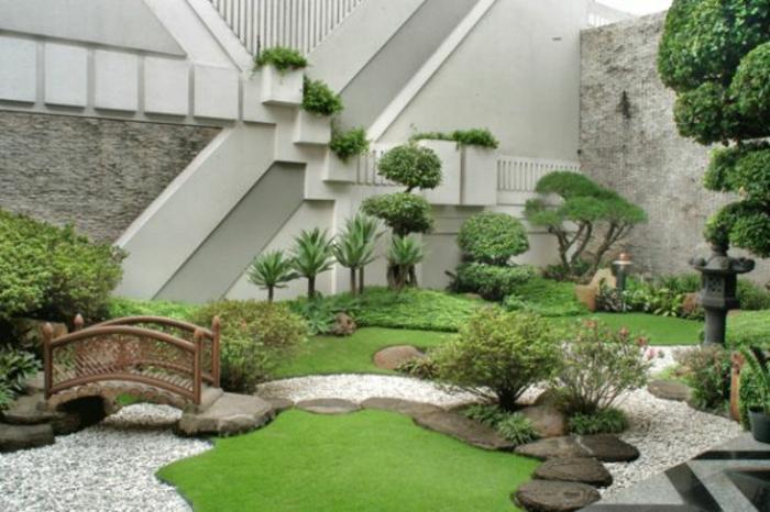 japanischer garten - inspiration für eine harmonische gartengestaltung, Garten ideen